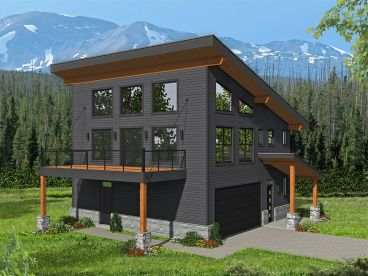 Carriage House Plan, 062G-0210