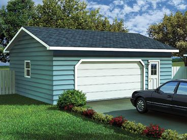 2-Car Garage Plan, 047G-0004