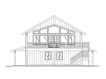 Carriage House Plan, 012G-0116