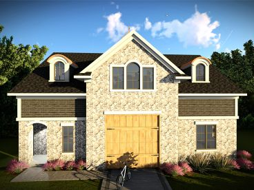 Drive-Thru Garage Plan, 020G-0009