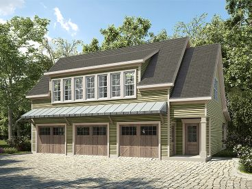 Carriage House Plan, 019G-0013
