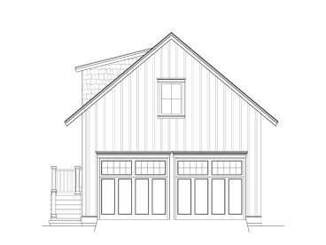 Garage Plan with Flex Space, 076G-0001