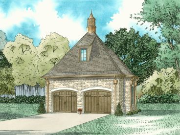 Two-Car Garage Plan, 025G-0013