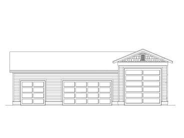 Rv garage plans boat storage and rv garage plan 024g for Boat storage building plans