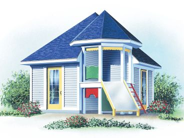 Shed Plan with Slide, 028S-0014