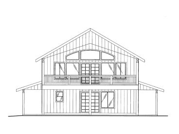 Carriage House Plan, 012G-0115