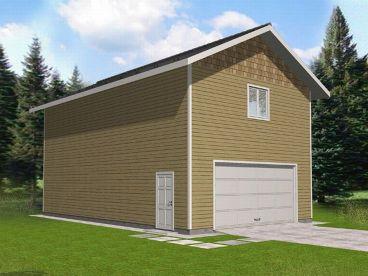 Page 3 Of 6 Tandem Garage Plans Tandem Bay Garage