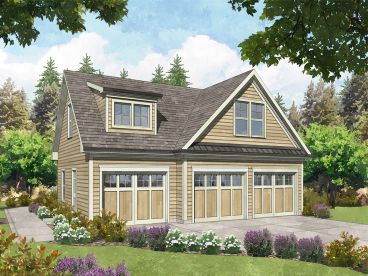 Carriage House Plan, 053G-0031