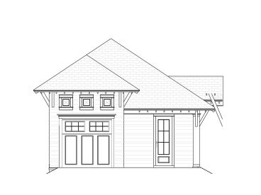 1-Car Garage Plan with Carport, 076G-0021