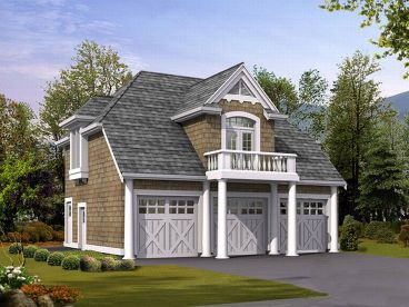 Carriage House Plan, 035G-0003
