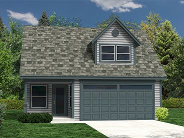 2-Car Garage Plan, 010G-0003