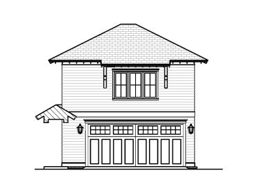 Garage Plan with Flex Space, 076G-0015