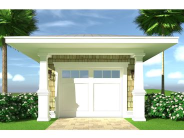 One-Car Garage Plan, 052G-0020