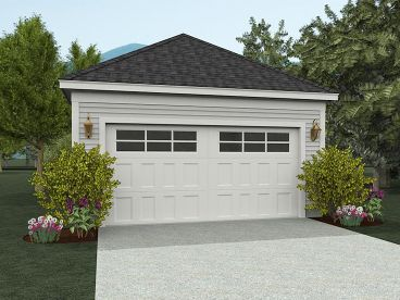 2-Car Garage Plan, 062G-0007