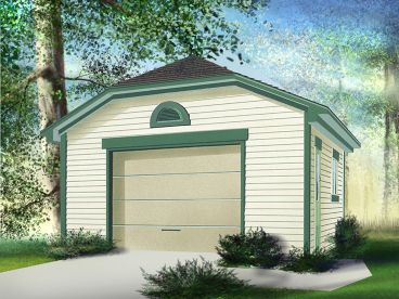 Multiple-Size Garage Plan, 072G-0009