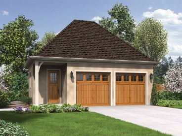 2-Car Garage Plan, 034G-0022