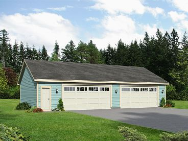 Perfect Four Car Garage Plan, 062G 0029 Gallery