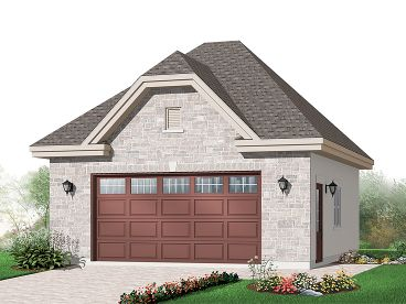 Unique Garage Plan, 028G-0044