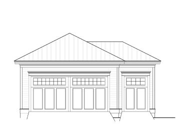2-Car Garage with Storage, 076G-0004