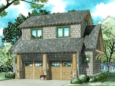 Carriage House Plan, 025G-0004