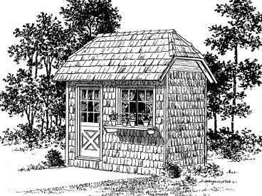 Potting Shed Design, 057S-0007