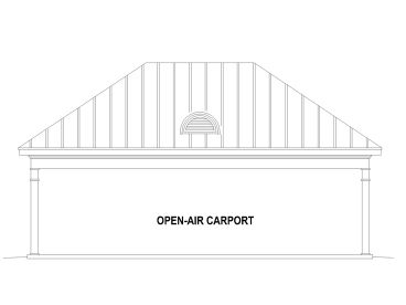 3-Car Carport Plan, 006G-0125