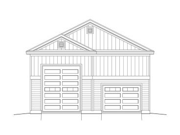 RV Garage Plan, 062G-0022