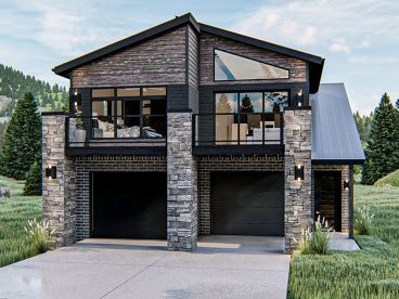 Carriage House Plan, 050G-0097