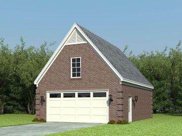 Garage plans with loft the garage plan shop for Boat garage plans