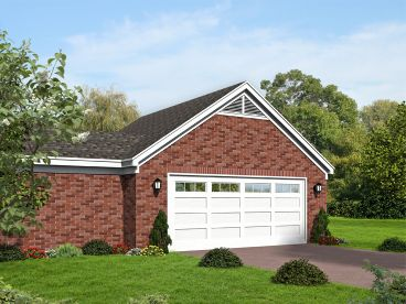 Garage Addition Plan, 062G-0109