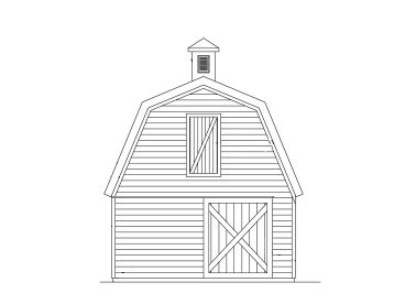Storage Shed Design, 057S-0005