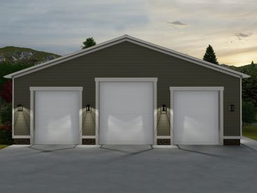RV Garage Plan, 065G-0001