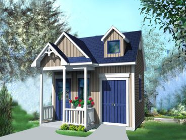 Storage Shed Plan, 072S-0023