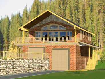Carriage House Plan, 012G-0085