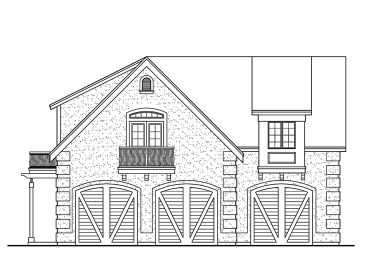 Garage Apartment Plan, 035G-0016