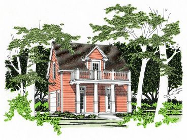 Carriage House Plan, 036G-0001