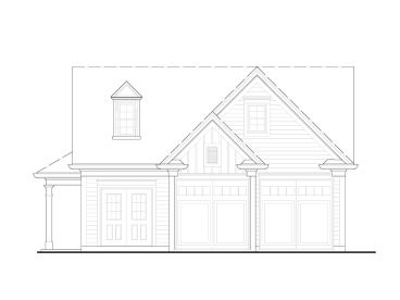 Garage Plan with Storage, 084G-0015