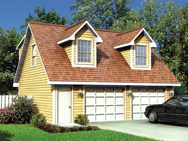 Garage Apartment Plan, 047G-0016