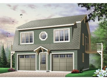 Carriage House Plan, 027H-0002
