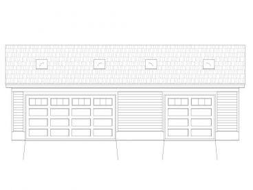 Garage Workshop Plan, 006G-0028