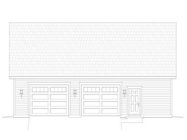 Garage Workshop Plan, 062G-0042