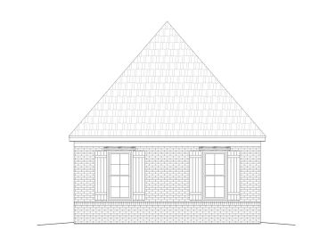 Double Garage Plan, 062G-0004