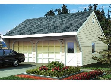 2 or 3 Car Garage Plan, 047G-0014
