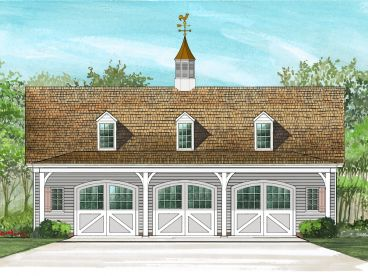 Carriage House Plan, 063G-0002