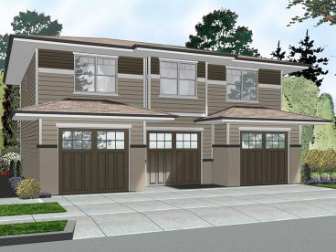 Garage Apartment Plan, 050G-0078