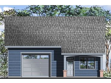 1-Car Garage with Flex Space, 051G-0089