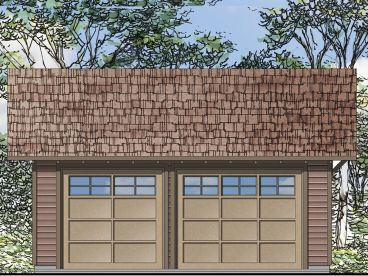 2-Car Garage Plan, 051G-0065
