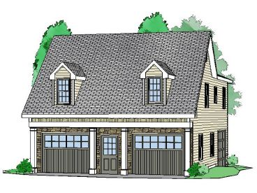 Carriage House Plan, 053G-0004