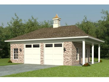 2-Car Garage Design, 006G-0059
