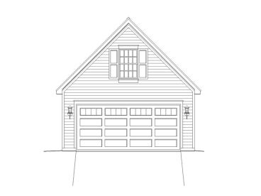 Garage Plan with Loft, 062G-0020